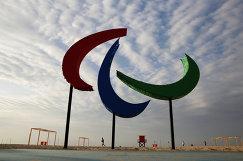 Логотип Паралимпийских игр в Рио-де-Жанейро
