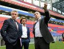 Сергей Горьков, Роман Бабаев и Евгений Гинер (слева направо)