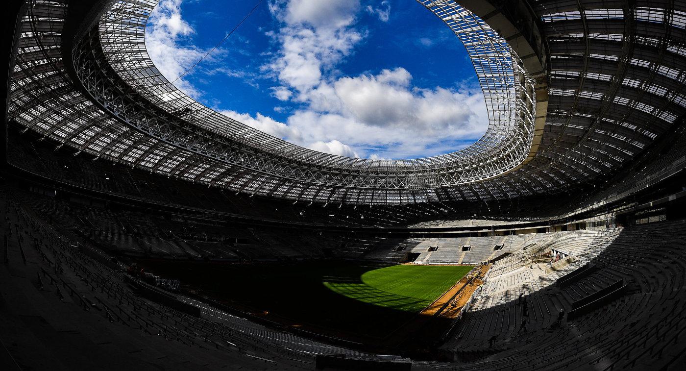 Визит экспертов FIFA и Оргкомитета Россия-2018 на стадион Лужники