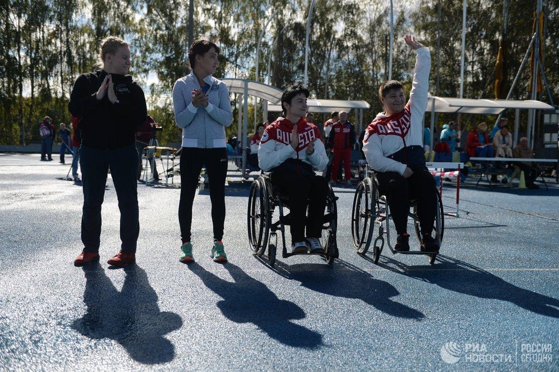 Всероссийские паралимпийские соревнования. Первый день.