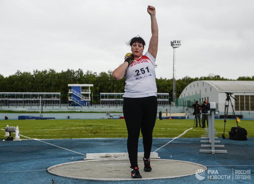 Российская спортсменка Софья Оксём