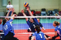 Игроки паралимпийской сборной России по волейболу