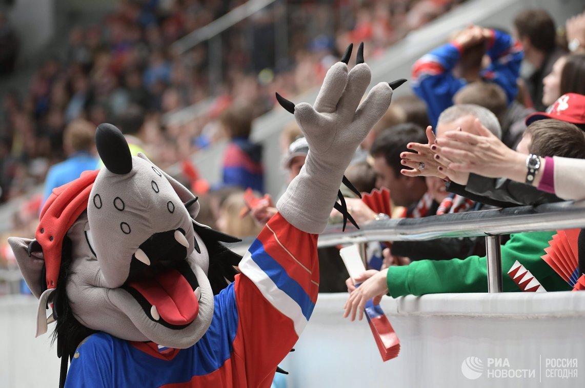 Талисман сборной России по хоккею