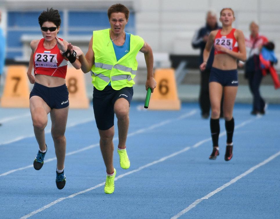 Всероссийские паралимпийские соревнования. Второй день.