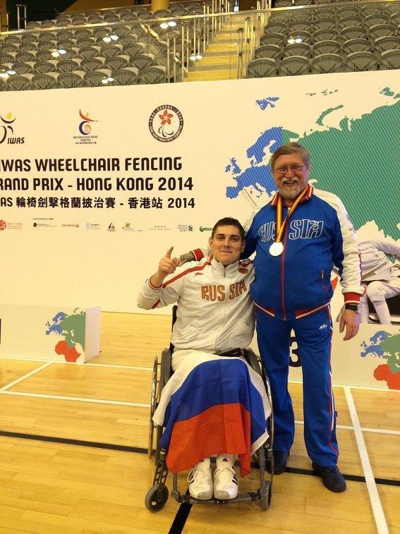 Член паралимпийской сборной
