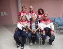 Старший тренер паралимпийской сборной России по стрельбе Владислав Ляшенко (в центре на заднем плане)