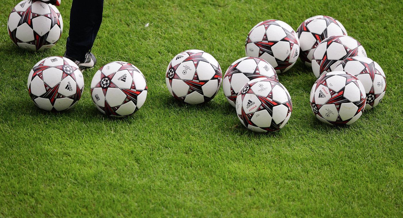 Футбольные мячи Лиги чемпионов
