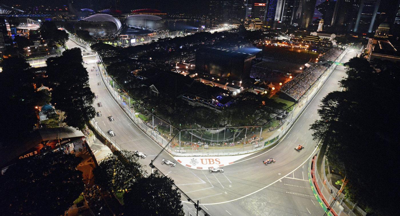 «Формула-1» подписала новый договор сорганизаторами Гран-при Сингапура