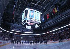 Эйр Канада-центр перед началом матча между сборными Европы и США