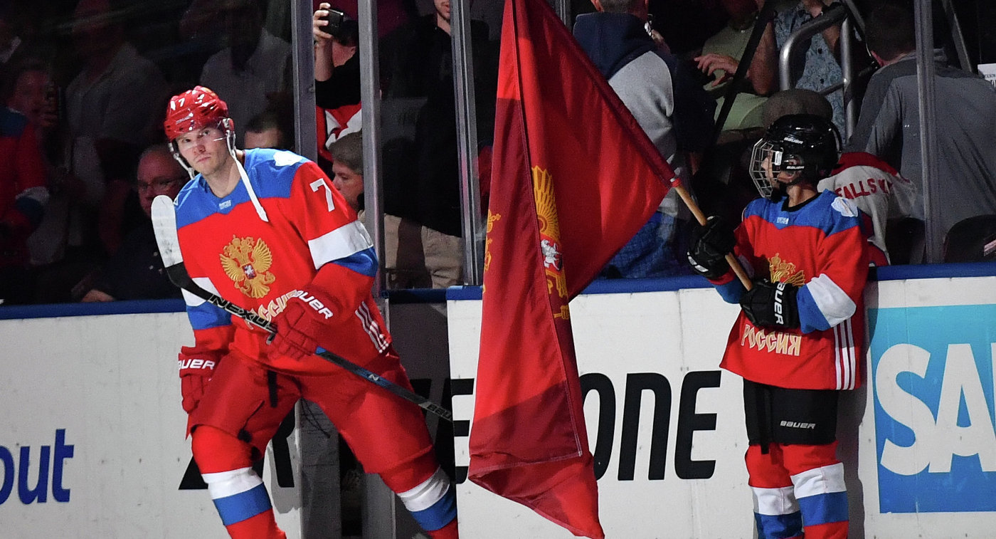 Защитник сборной России Дмитрий Куликов
