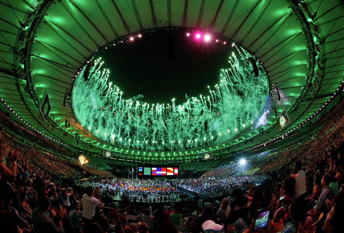 Церемония закрытия Паралимпийских игр-2016