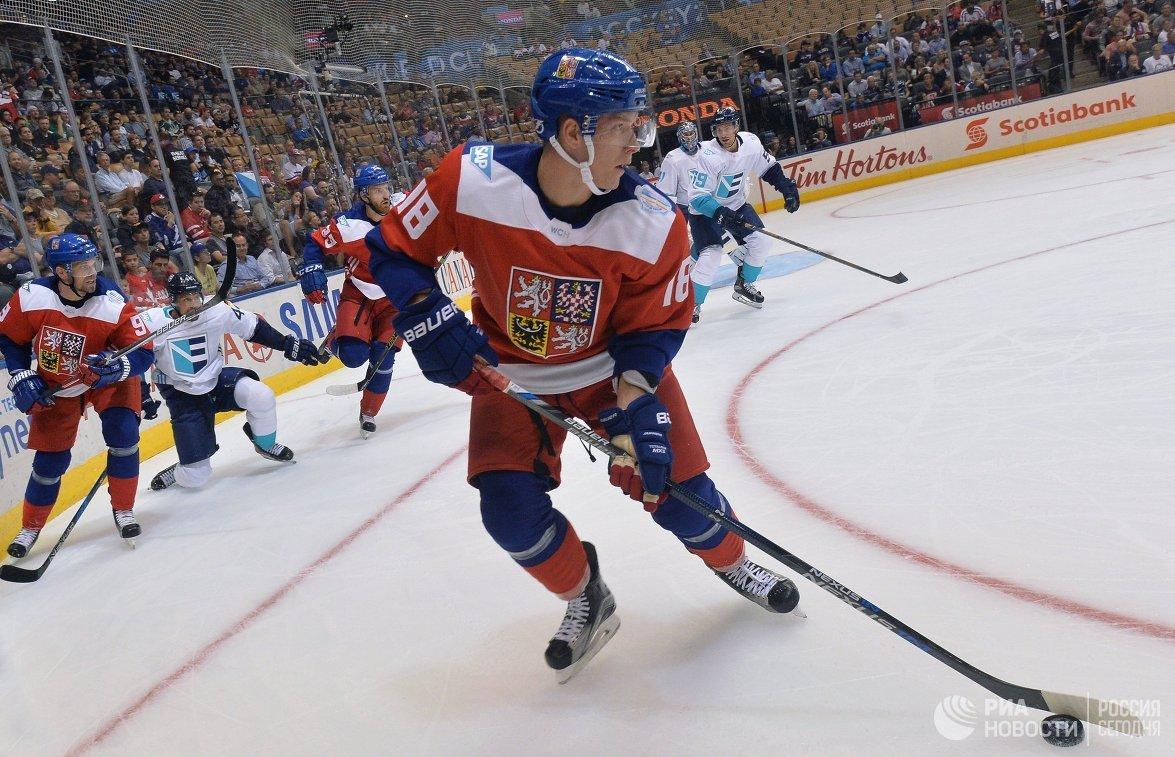 Нападающий сборной Чехии Ондржей Палат