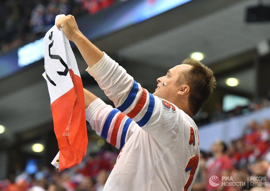 Болельщик сборной Чехии