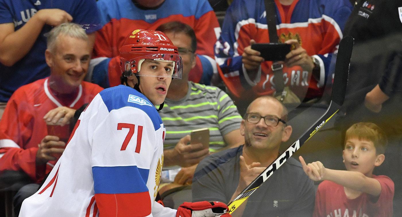 Евгений Малкин: «Трудно осознавать, что мынеедем наОлимпийские игры»