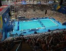 Бассейн XVI чемпионата мира по водным видам спорта на стадионе Казань-Арена в Казани