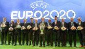 Церемония объявления городов-организаторов ЧЕ-2020 по футболу
