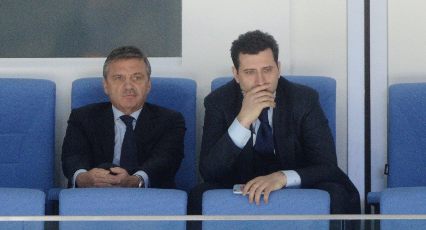 Рене Фазель (слева) и Роман Ротенберг