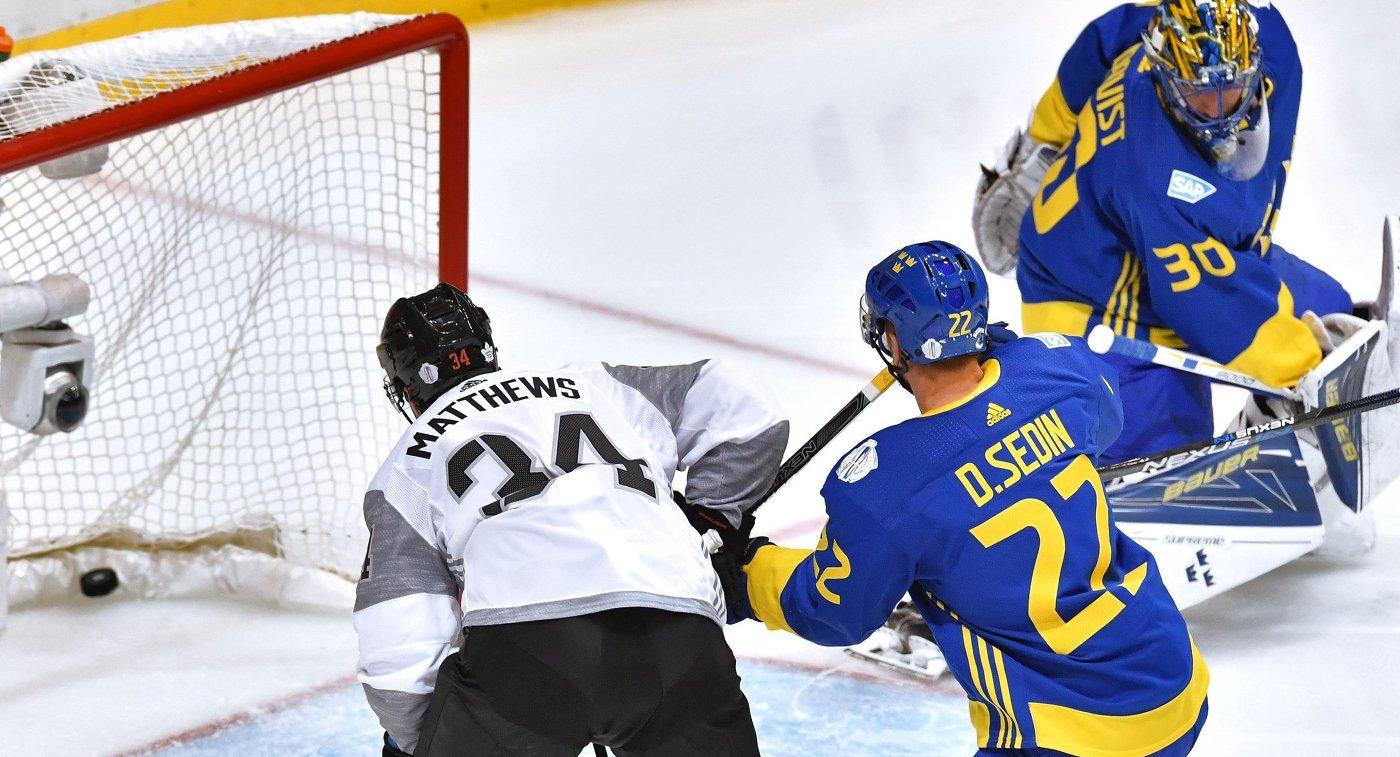Северная Америка обыграла Швецию на Кубке мира
