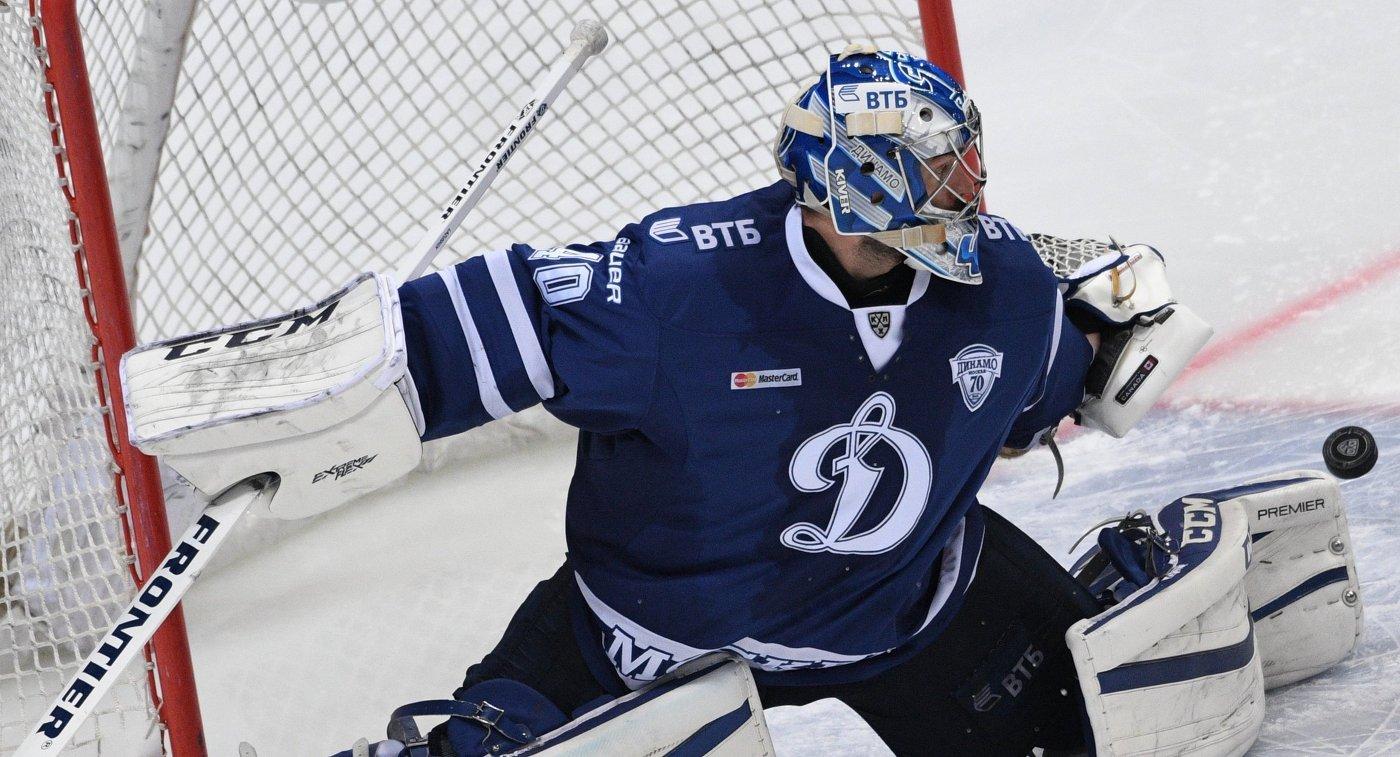 Новости спорта динамо москва хоккей