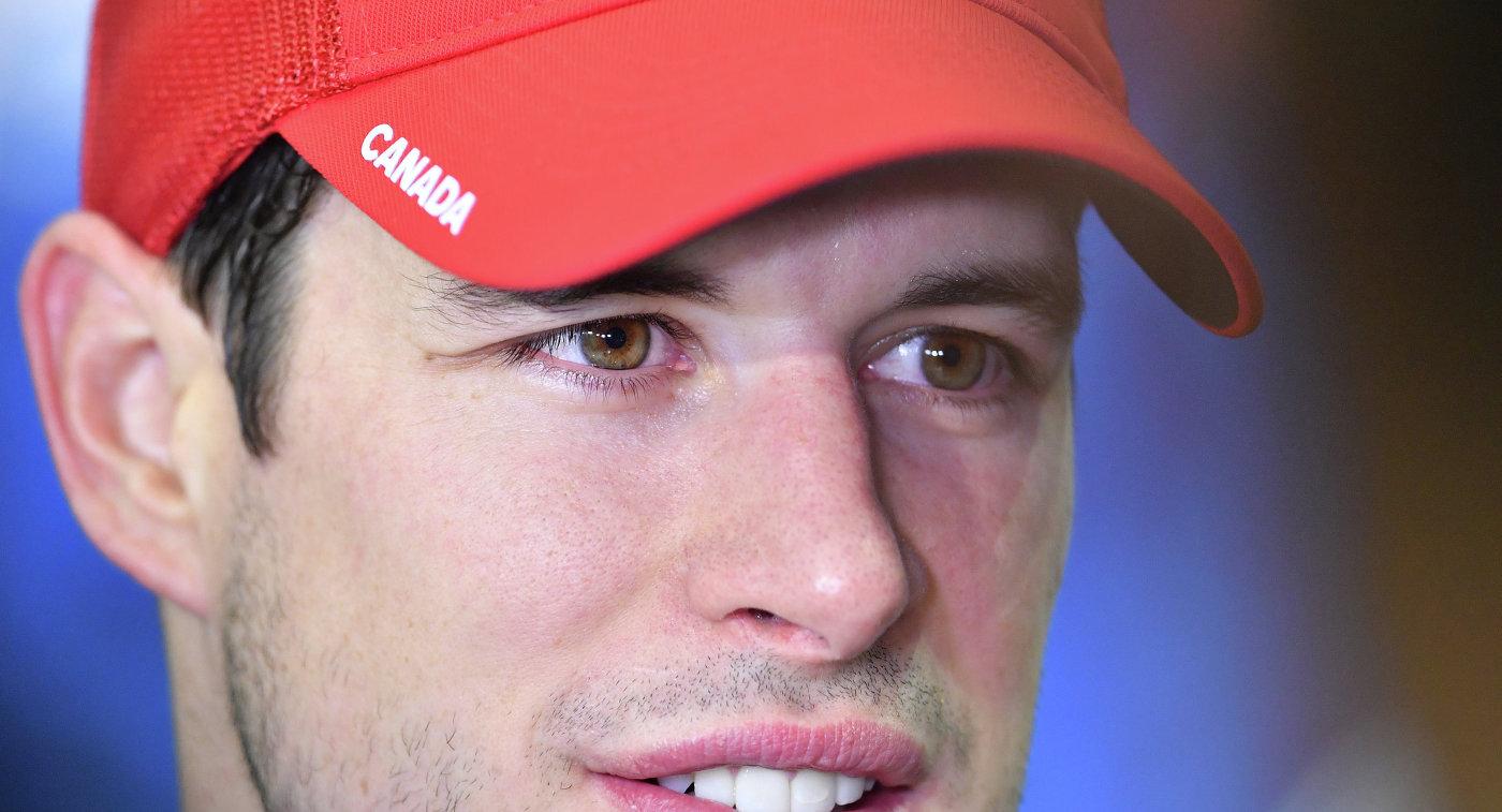 Игрок сборной Канады Сидни Кросби