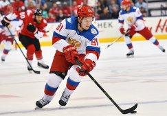 Нападающий сборной России Владимир Тарасенко