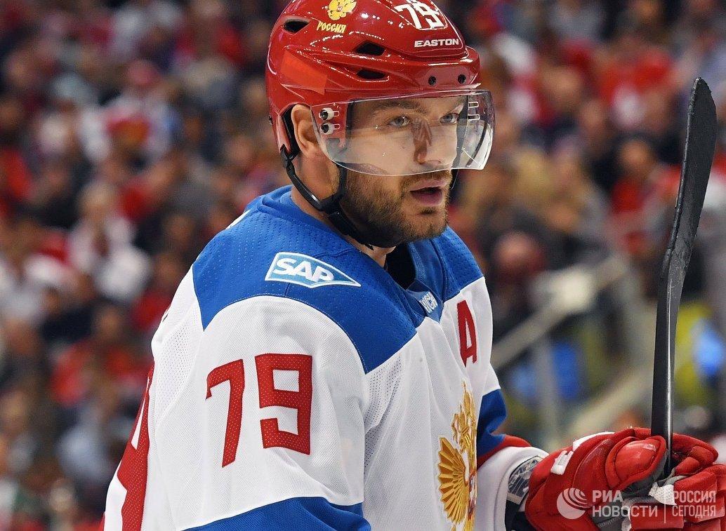 Защитник сборной России Андрей Марков