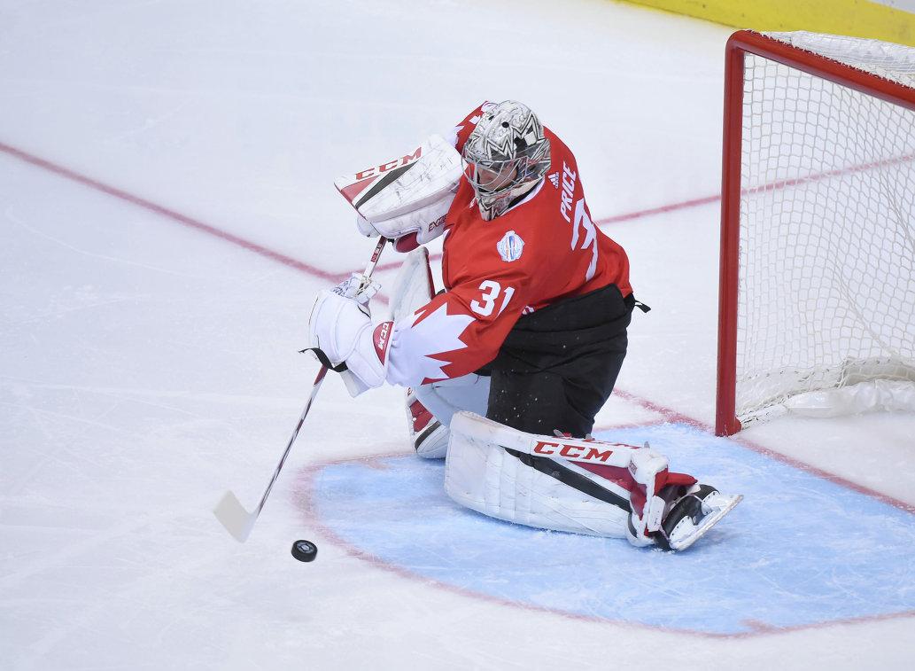 Вратарь сборной Канады Кэри Прайс