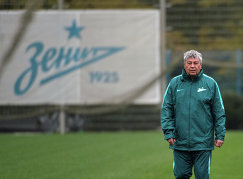 Главный тренер Зенита Мирча Луческу