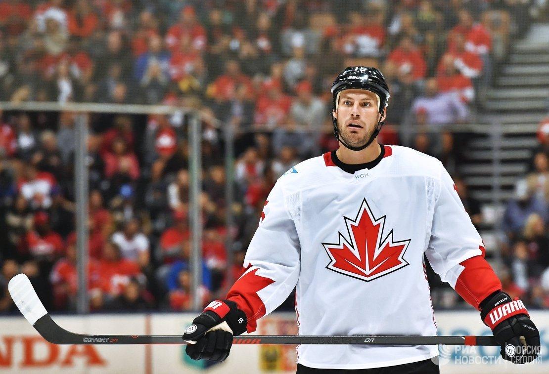 Нападающий сборной Канады Райан Гетцлаф