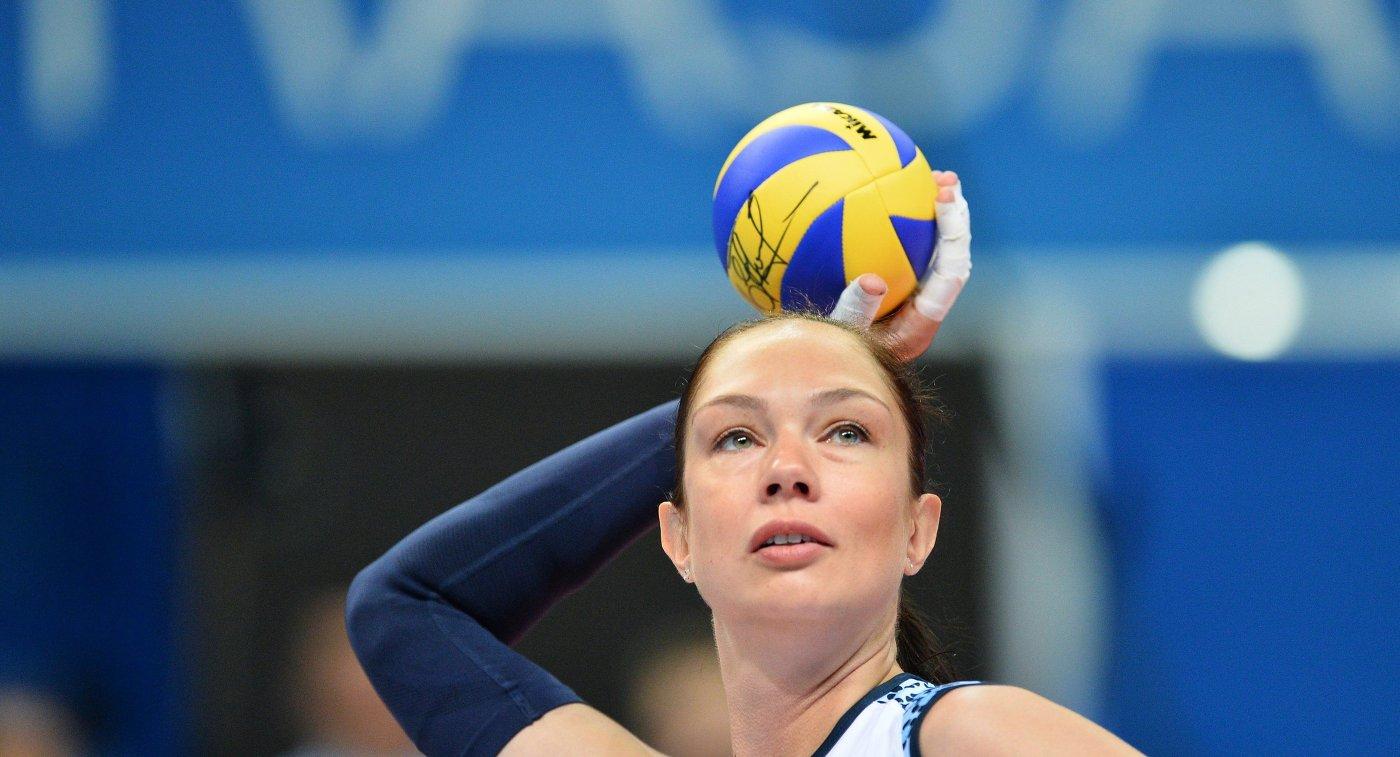 Игрок ВК Динамо-Казань Екатерина Гамова