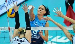 Игрок ВК Динамо Наталья Гончарова