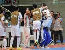 Игроки сборной Ирана по мини-футболу