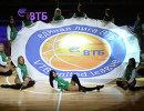 Участницы группы поддержки перед началом матча регулярного чемпионата Единой Лиги ВТБ УНИКС - Нижний Новгород