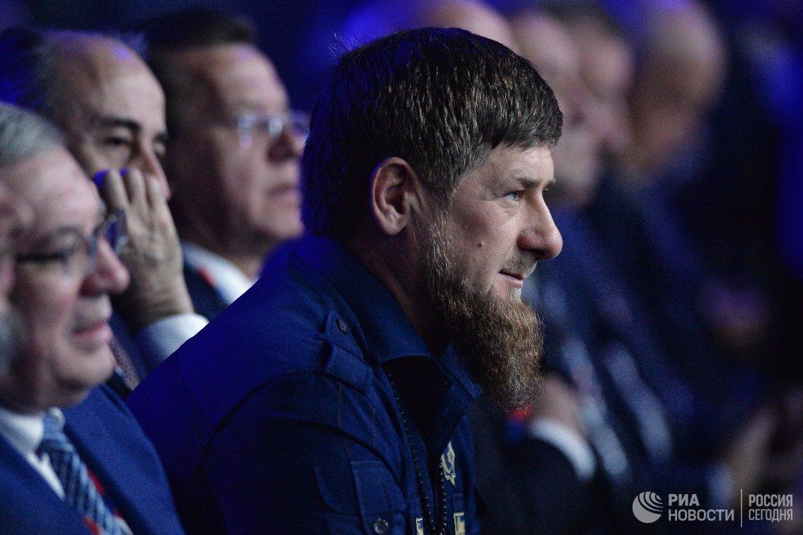 Десятилетний сын Рамзана Кадырова выиграл бой на турнире ММА за 14 секунд