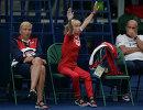 Тренеры сборной России по прыжкам в воду Светлана Моисеева и Валентина Решетняк (справа)