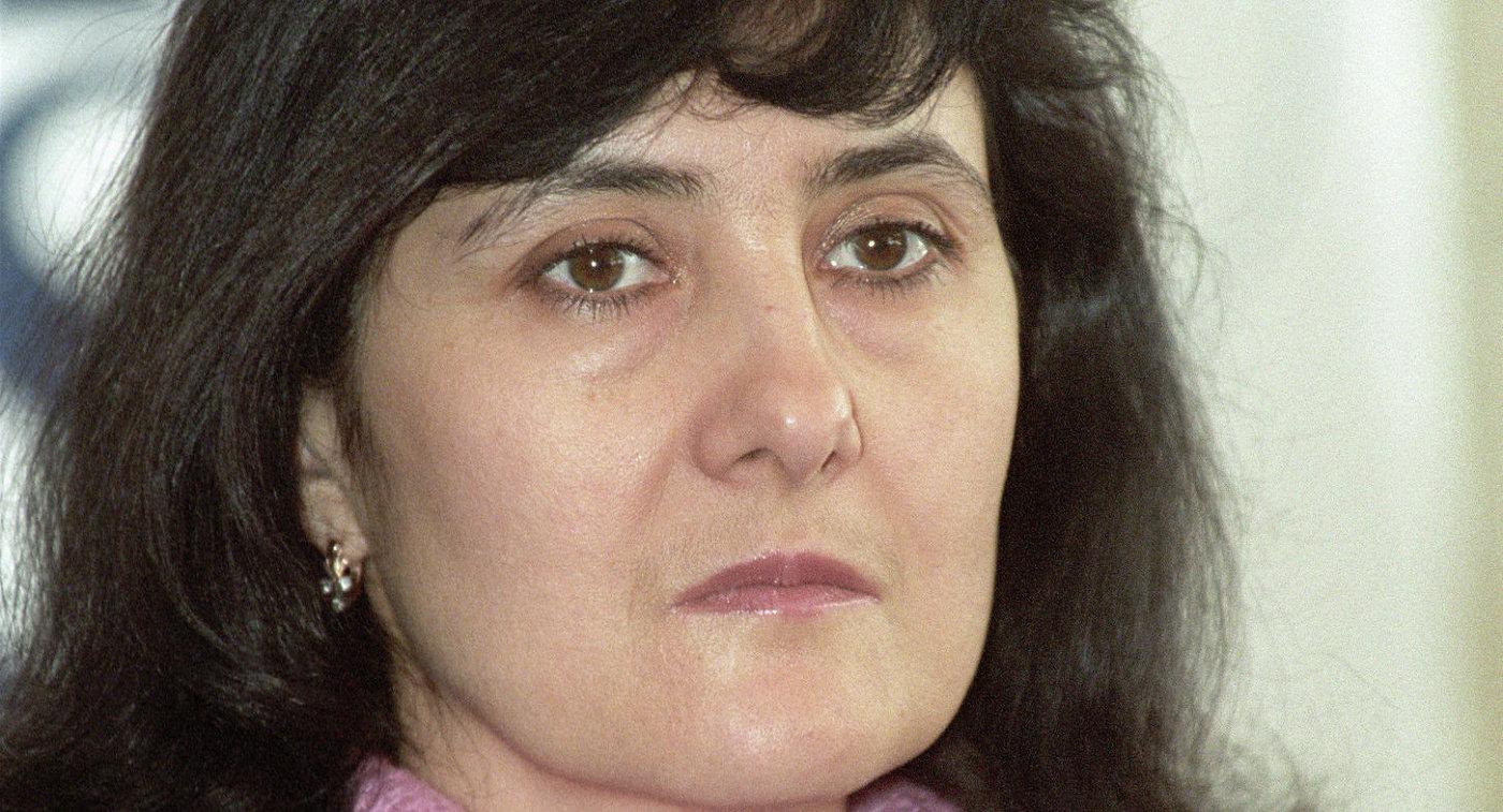 Международный арбитр по фигурному катанию Марина Саная