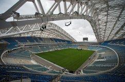 Реконструкция стадиона Фишт в Сочи