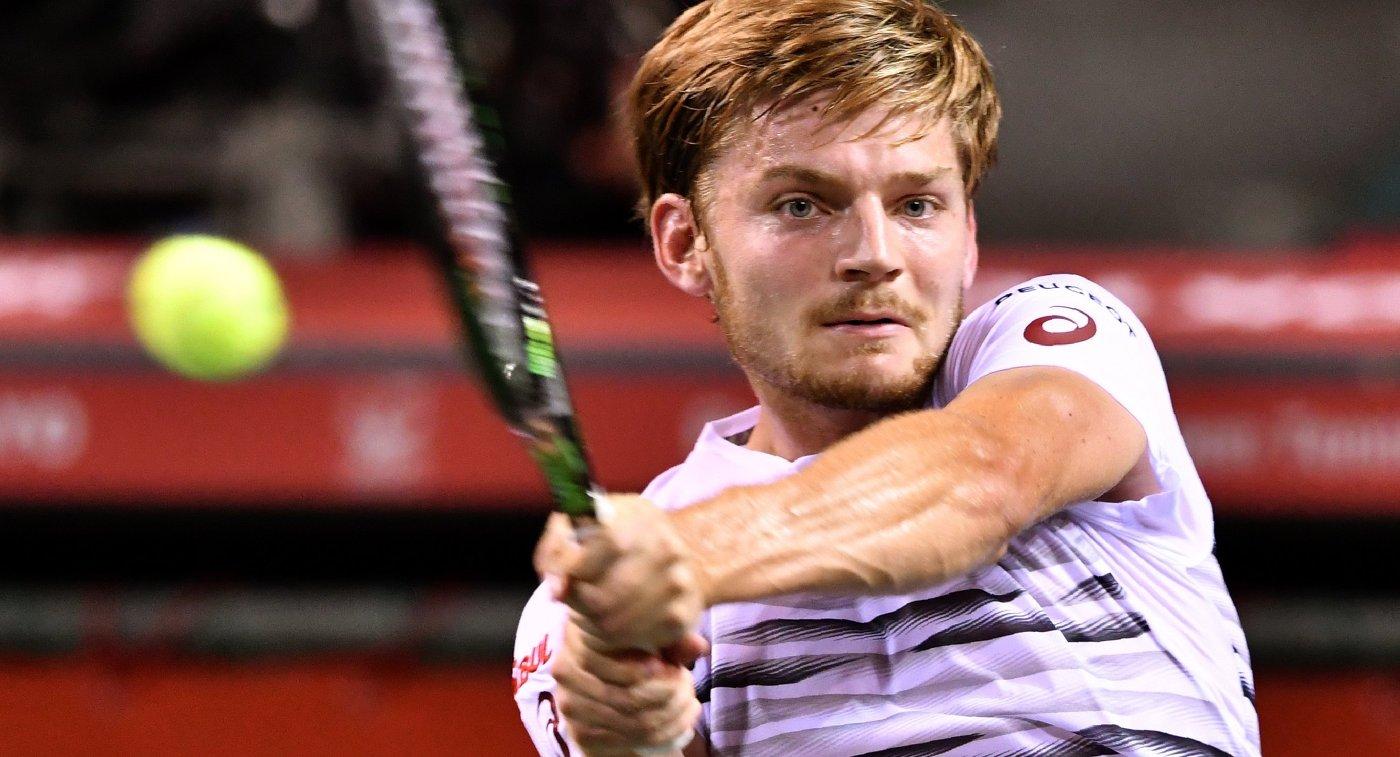 Гоффен вышел в четвертьфинал турнира в Риме после отказа дель Потро