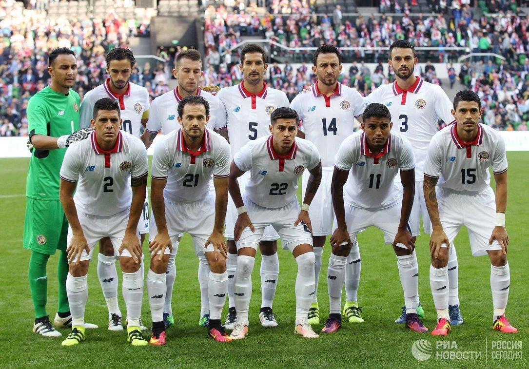 Игроки сборной Коста-Рики