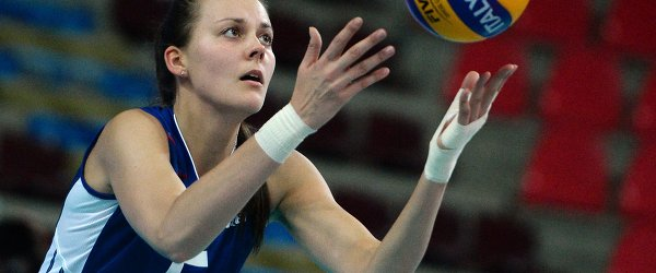Доигровщица сборной России Александра Пасынкова