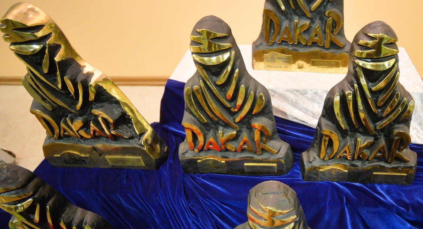 Награды за победу на ралли Дакар