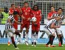Игровой момент матча Айнтрахт - Бавария