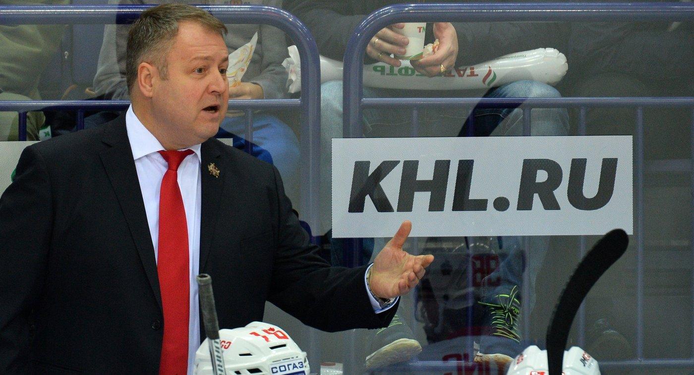 Тренера хоккейной «Сибири» Павла Зубова отправят вотставку
