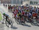 Спортсмены во время чемпионата мира по велоспорту на шоссе в Дохе