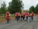 Участники слета первокурсников – обладателей золотых знаков ГТО, состоявшегося в рамках форума, вышли на массовый забег Навстречу XIX Всемирному фестивалю молодёжи и студентов 2017 года в г. Сочи