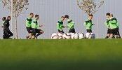 Футболисты Краснодара на тренировке