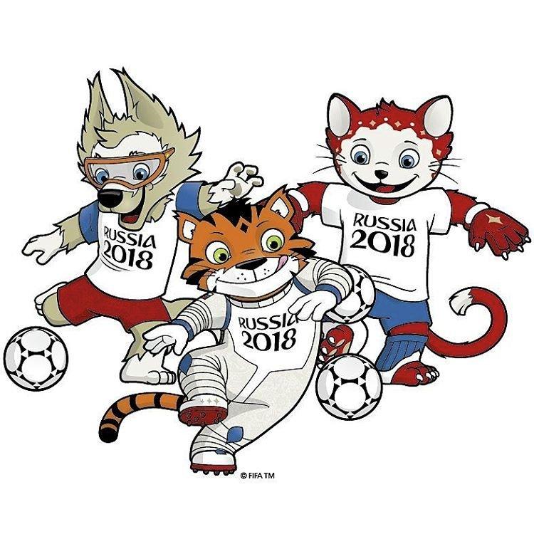 Символ чемпионата мира по футболу в россии