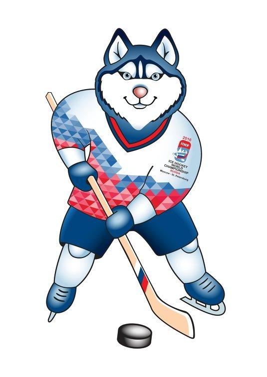 Официальный талисман Чемпионата мира по хоккею-2016, Лайка.