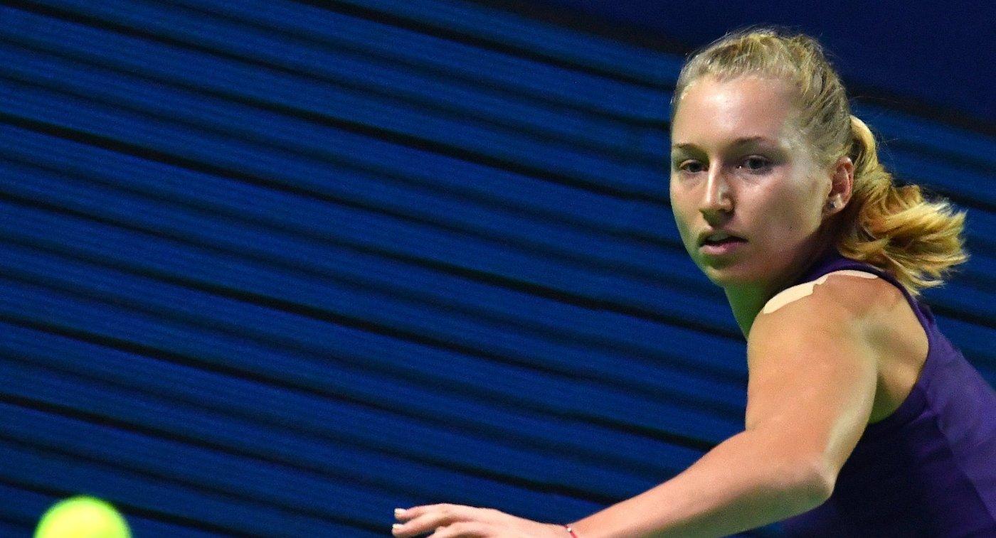 Гаврилова сыграет с Шараповой в третьем круге турнира в Риме