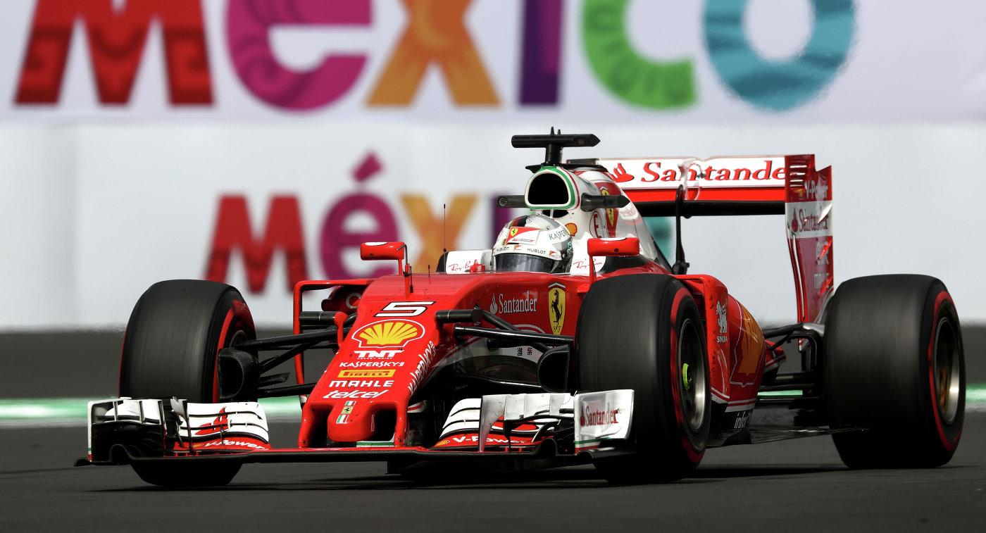 Феттель выиграл вторую практику в Мексике